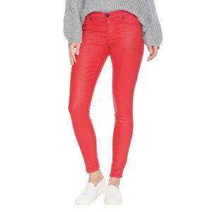 Blank NYC The Mercer Red Coated Skinny Jeans NWT